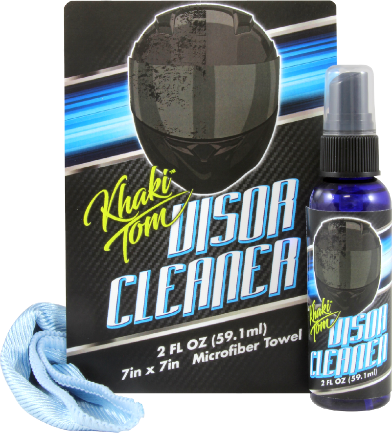 khaki tom visor cleaner kit